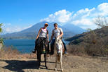 Horseback riding visiting two villages at Lake Atitlan: