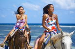 Blue Hole and Horseback Riding Adventure from Runaway Bay