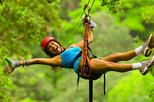 Zipline and Snorkeling Cruise from Guanacaste