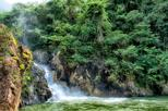 Jungle Pontoon Boat and Waterfall Adventure Tour