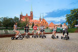 The Classic E-Scooter (3 wheeler) Tour of Wroclaw - everyday tour at 6:30 pm