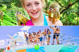 Monkey Island wild life Eco Adv : Catamarán Attractions and Reef Explore from Punta Cana