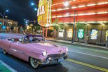 Private Las Vegas Night Tour with Elvis in Pink Cadillac Convertible