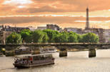Bateaux Parisiens Dinner Cruise on the Seine, Paris,