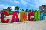 Cancun City Sightseeing Tour Including El Meco Ruins and Playa del Carmen