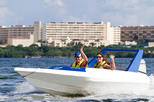 Lagoon Speed Boat Adventure and Snorkeling Tour in Cancun