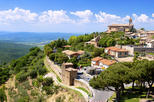 Full-Day Private Shore Excursion: Discover Tuscany, Siena Montalcino and Val D'Orcia and Montepulciano Pienza from Livorno