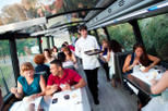 Barcelona Gourmet Dinner on a Deluxe Glass-Roof Bus, Barcelona, Food Tours