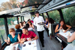 Barcelona Gourmet Tapas Dinner on a Deluxe Glass-Roof Bus
