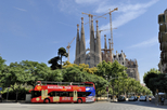 Hop-on-Hop-off-Tour durch Barcelona: Ost-West-Route