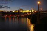 Prague Night Tour and River Vltava Dinner Cruise, Prague,