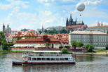 Prague Vltava River Lunch Cruise, Prague,