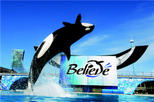 SeaWorld de Californie avec transport