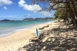 Vigie Beach Day with Round Trip Transfer from St Lucia
