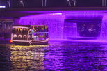 3-Hour Luxury Canal Buffet Cruise Including Glide under Dubai's Waterfall Bridge