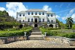Shopping in Mo Bay with Rose Hall Great House from Grand Palladium