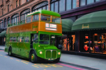 London Vintage Bus Tour with Afternoon Tea and Champagne at Harrods