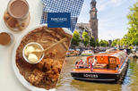 Amsterdam Canal Cruise from Anne Frank House Stop Plus Pancake and Drink
