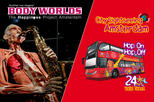 Europe - Netherlands: Amsterdam Combo: Body Worlds & City Sightseeing Hop-On Hop-Off Tour
