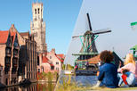 Europe - Netherlands: Amsterdam Super Saver: Bruges Day Trip plus Zaanse Schans Windmills, Marken and Volendam Half-Day Trip