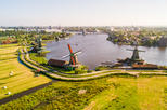 Amsterdam Super Saver: City Walking Tour plus Zaanse Schans Windmills, Marken and Volendam Half-Day Trip