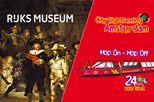 Europe - Netherlands: Amsterdam Super Saver: Rijksmuseum & City Sightseeing Hop-On Hop-Off Boat