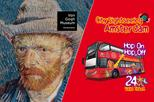 Amsterdam Super Saver: Van Gogh Museum & City Sightseeing Hop-On Hop-Off Bus