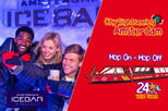 Amsterdam Super Saver: XtraCold Icebar Fast-Track Ticket & City Sightseeing Hop-On Hop-Off Boat
