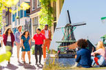 Amsterdam Super Saver:Zaanse Schans Windmills, Marken and Volendam Half-Day Tour