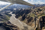 75-Minute South Iceland Sightseeing Flight: Volcanoes, Glaciers and the Highlands