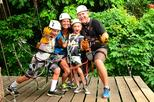 Zipline and Rain Forest Aerial Tram Tour from Puntarenas