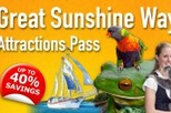 Brisbane, Gold Coast and Sunshine Coast Great Sunshine Way Attraction Pass, Brisbane,