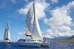Semi-Private Tour: Waikiki Luxury Yacht Snorkel and Sail, Oahu, Day Cruises