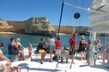 Half Day Coastline Caves Cruise from Vilamoura by Catamaran