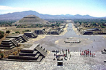 Teotihuacan Pyramids and Shrine of Guadalupe, Mexico City,