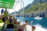 Cruise to the secluded coves and caves of Majorca's Eastern coast