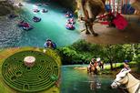 BLUE RIVER COMBO: WHITE WATER TUBING-HORSE BACK RIDING & LABYRINTH TOUR