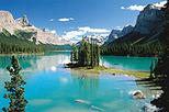 Jasper City Sightseeing Tour and Maligne Lake Cruise, Alberta,