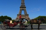 Romantic Horse and Carriage Ride through Paris, Paris,