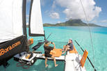 Private Tour: Half-Day Bora Bora Catamaran Sailing and Floating Bar Experience