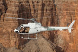 Doors Off Helicopter Flight Over the Grand Canyon West Rim and Scenic Motorized ATV Tour through Lake Mead National Park with Optional Shooting Package