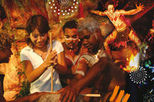 Aboriginal Cultural Tjapukai by Night Tour including Buffet Dinner, Cairns & the Tropical ...