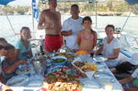 Private Full Day Sail Cruise from Kalamata Koroni Kardamili Stoupa Including Lunch and Drinks