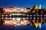 2.5-Hour Warsaw by Night Guided Bike Tour