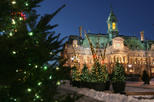 Christmas Walking Tour in Old Montreal, Montreal,