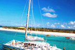 Day Trip to the Island of Prickly Pear from St. Martin, St Maarten, Sailing Trips