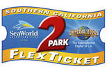 Southern California 2-Park Flex Ticket: SeaWorld and Universal Studios Hollywood