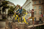 2-hour Kick Bike Tour Through Vienna with Locals