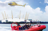 London Helicopter Tour Including High-Speed Boat Cruise on the River Thames