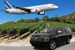 Half-Day Wine Tour With Airport Transfer From Sonoma or Napa